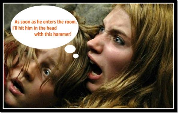 Дети прячутся от зомбаков болванка 1