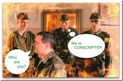 conscripts перевод