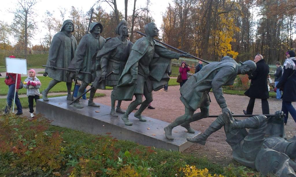 слепцы екатерининский парк в пушкине