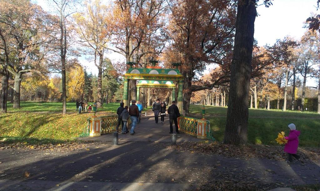 царское село александровский парк
